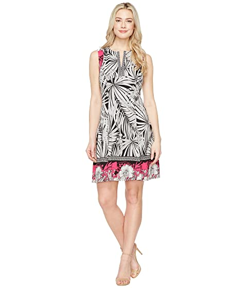 Maggy London Print Scuba Fit And Flare Dress At 6pm