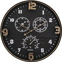 ساعة حائط من اي ماكس 64501 كلارك - اسود
