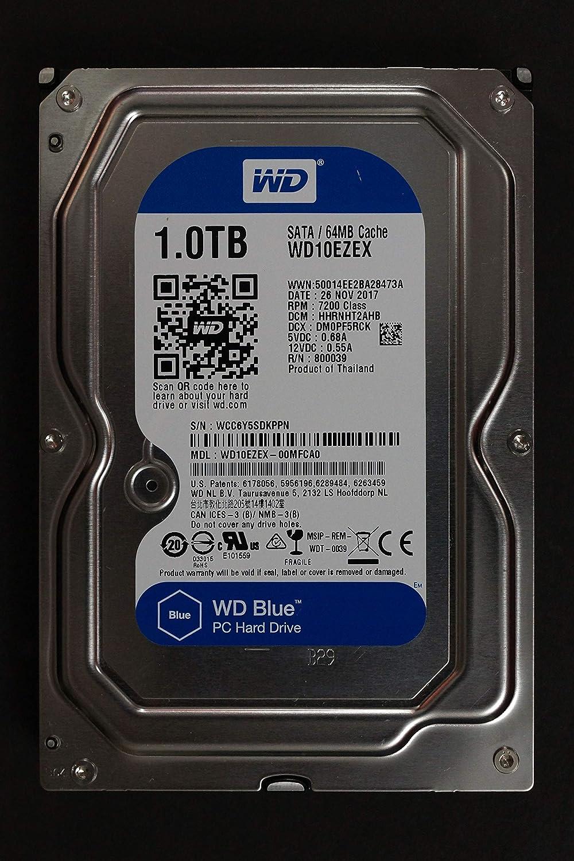 WD10EZEX WD 1TB 7.2K 6G Drive Hard New York Mall Many popular brands SATA LFF