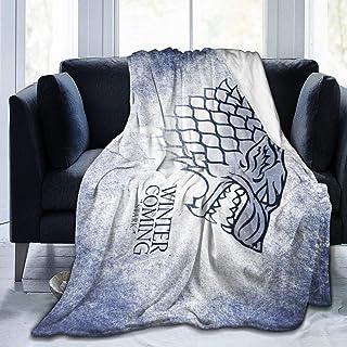xiaoxiaoshen Game of Thrones Blanket Flannel Blanket Gift Blanket Soft Warmth Throw Blanket Outdoor Travel Blanket