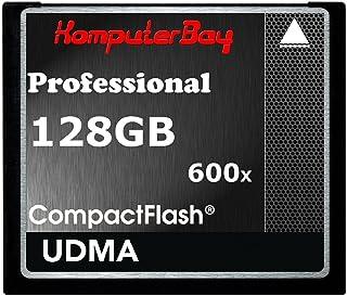 Komputerbay 128ギガバイト 専門家 コンパクトフラッシュカード CF 600X 90メガバイト/秒 極端なスピード UDMA 6 RAW 128 GB Compact Flash Card