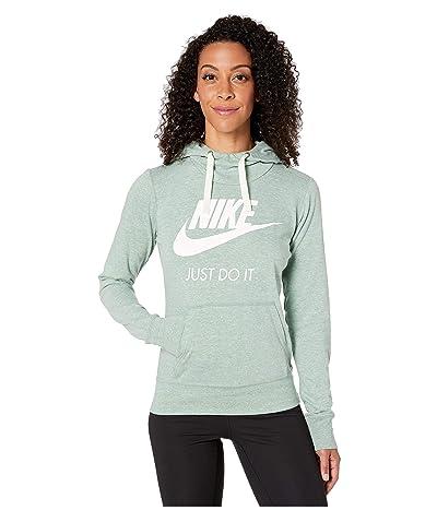 Nike Sportswear Gym Vintage HBR Hoodie (Silver Pine/Sail) Women