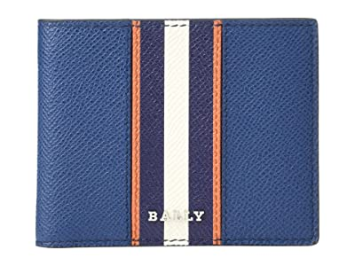 Bally Bevye. Bi/7 Bifold Wallet (Multi Blue Sky) Wallet Handbags