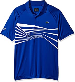 Men's Sport Novak Djokovic Short Sleeve Ultra Dry Graphic Polo