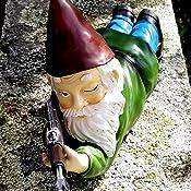 15 cm Elf Out the Door Tree Hugger figuras de gnomo Elibeauty Figura de gnomo de jard/ín para entusiastas del aire libre escultura de /árbol para decoraci/ón interior y regalo