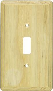 Jackson Deerfield 401U Ash Single Toggle Wall Plate