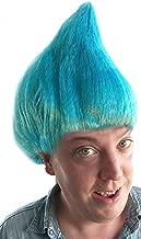 Light Blue Troll Wig | Costume Wig for Adults, Kids, Unisex, Men, Women, Cosplay, Halloween