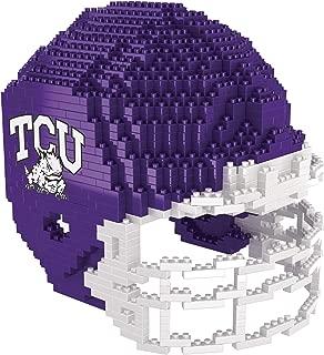 NCAA TCU Horned Frogs 3D BRXLZ Helmet3D BRXLZ Helmet, Team Color, One Size