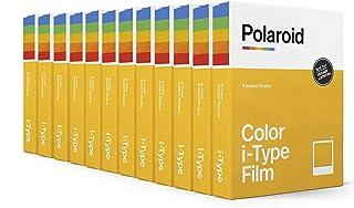 Polaroid Originals Color Film for I-Type 12 Pack, 96 Photos (6009), Color Film x96 Photos (6011)