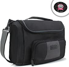USA GEAR Universal Tablet Messenger Bag Compatible with 11-inch iPad Pro, Lenovo Smart Tab 10.1, Galaxy Tab A 10.1, Galaxy Tab S5e 10.5 - Durable Exterior, Shoulder Strap, Padded Adjustable Dividers