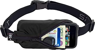 SPIbelt Running Belt, No-Bounce Waist Bag for Runners Athletes Men and Women fits iPhone and Android Phones