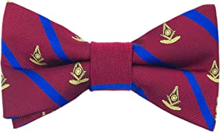 The Regal Past Master Bow Tie by Masonic Revival (Standard Self-Tied)