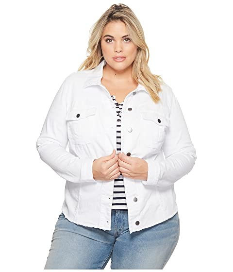 Kara Hem from Kloth Frayed Plus Size the KUT w Jacket v4qXH