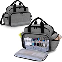 Trunab Medical Supplies Bag, Nurse Bag with Handle and Shoulder Strap for Home Health Care, Hospice Visit, Travel, or Emer...