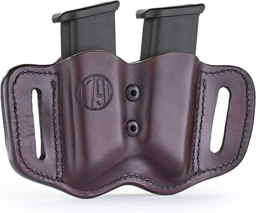 Details about  /Handmade Leather RH Cross Draw Gun Holster /& 2 mag pouches Auto S/&W M/&P Ruger