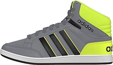 adidas Hoops Mid K, Chaussures de Sport garçon, Gris-Gris (Gris ...