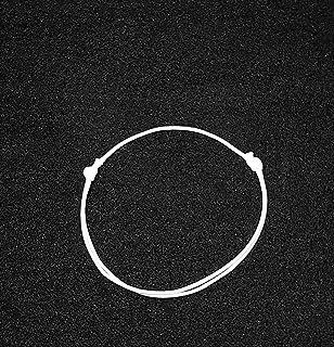 F3 bracelet unisex white color