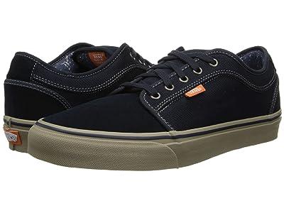 Vans Chukka Low (Navy/Warm Grey) Skate Shoes