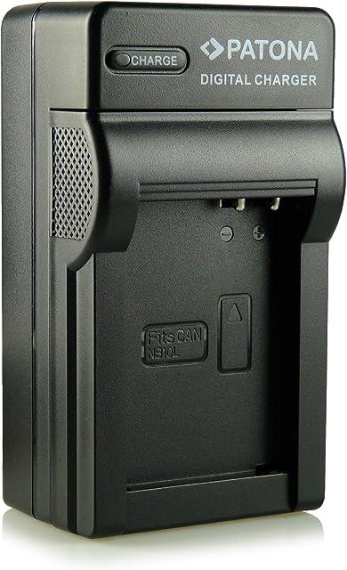 3in1 Cargador NB-10L para Canon PowerShot G15 | PowerShot G1X | PowerShot SX40 HS | PowerShot SX50 HS y mucho más…