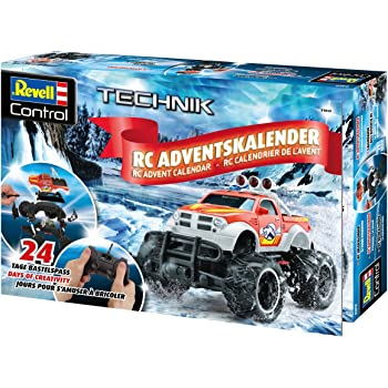 Revell Control 01022 Rc Car Advent Calendar Black 25cm Amazon Co Uk Toys Games