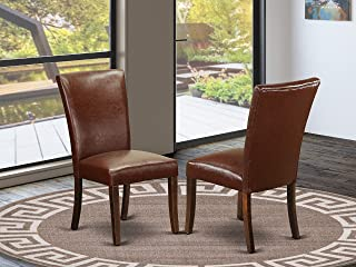 dining chairs mahogany legs