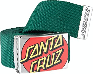 Santa Cruz Crop Dot Belt - Evergreen