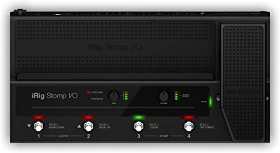 IK Multimedia iRig Stomp I/O USB pedalboard controller and audio interface for Mac, PC, iPhone and iPad