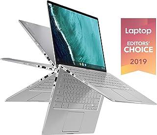 ASUS 華碩 Chromebook Flip C434TA-DSM4T 2合1筆記本電腦 14英寸觸屏全高清 4面NanoEdge, 英特爾酷睿M3-8100Y處理器,4GB內存,64GB eMMC存儲,Chrome OS