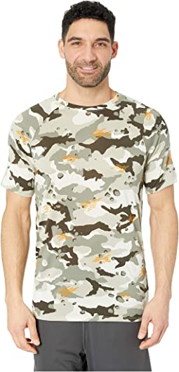 Dry Legend Tee Camo All Over Print