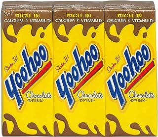 Yoo-Hoo Chocolate Drink, 6.5 Fluid Ounce Box, 3 Count (Pack of 8)