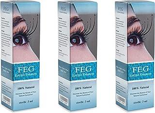 3 X FEG تقویت کننده مژه! 3 قطعه از قوی ترین مژه ها رشد سرم 100٪ طبیعی. رشد سریع مژه ها را افزایش دهید !!!