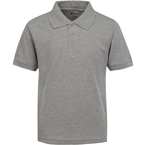 Premium Men s Polo Shirts – Short Sleeves Stain Guard Polo Shirts for Men 3c746e45d