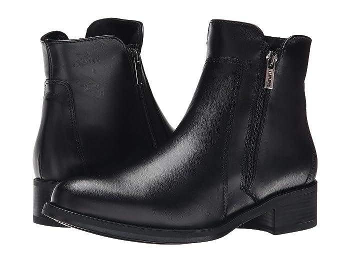 La Canadienne  Saria (Black Leather) Womens Dress Boots