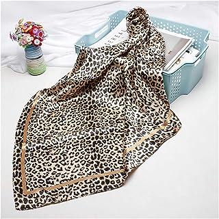 scarf Scarf For Women Hijab Scarfs Female 90cmx90cm Fashion Square Shawl Head Scarves For Ladies Wraps (Color : 05, Size :...