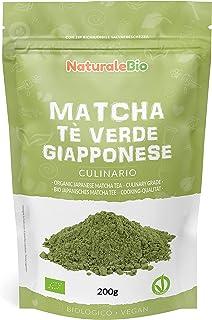 Ekologiskt grönt matcha pulverte [ KULINARISK KVALITET ] 200g. Matchate producerat i Japan, i staden Uji, Kyoto. Perfekt f...