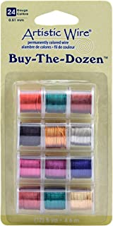 Beadalon Artistic Wire 24-Gauge Buy-The-Dozen Wire