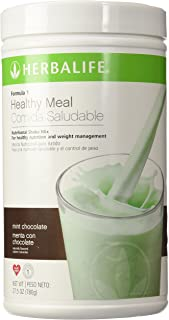 Herbalife Formula 1 Nutritional Shake Mix, Mint Chocolate, 1.72 lb