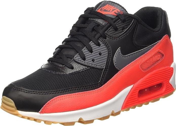 Nike Wmns Air Max 90 Essential, Scarpe da Ginnastica Donna, Nero ...
