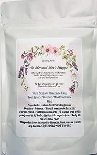Bentonite Clay Montmorillonite Fine Powder ~ 8oz ~ NATURAL FOOD GRADE ~ from Wyoming ~ Detoxification ~ White Label Premium Herbs ~ Sodium Bentonite (Montmorillinite) ~ Water washed and no chemicals