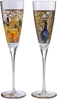 Motivo: Il Bacio Calice da Champagne con Decorazione Goebel 66-926-70-8 Klimt