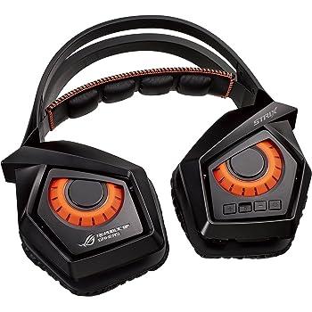 ASUS ゲーミングヘッドセット ワイヤレス ROG Strix Wireless 立体音響バーチャル7.1サラウンド USB デタッチャブルマイク