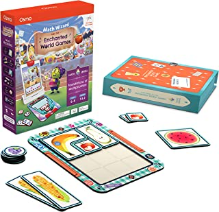 Osmo - Math Wizard and The Enchanted World Games iPad & Fire Tablet - Ages 6-8/Grades 1-2 - Foundations of Multiplication...