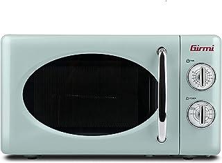 Girmi FM21 - Horno de microondas con diseño vintage, 20 litros, 700 + 800 W