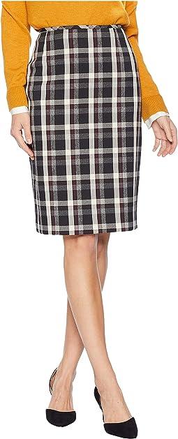 Novelty Plaid Skirt