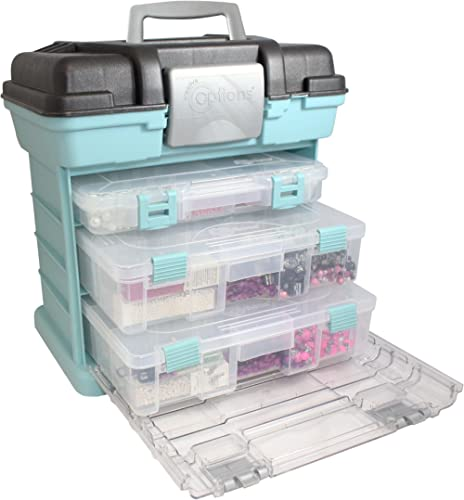 Creative Options 1363-83 Grab N' Go Rack System, Soft Blue,Medium