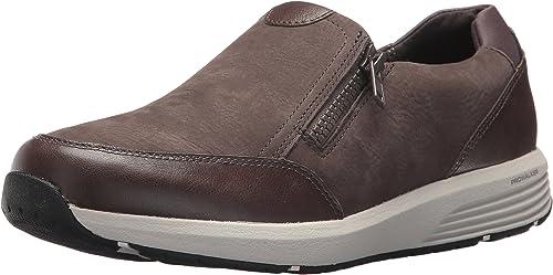 Rockport Chaussures à Glissière Latérale TS TS TS W pour Femme, 38.5 W EU, Dark gris f44