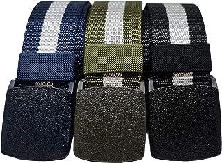 3 piezas | Cinturon Tactico Militar | Cinturon Trekking | Cinturon de Trabajo | Cinturon Hombre | Cinturones Senderismo | ...