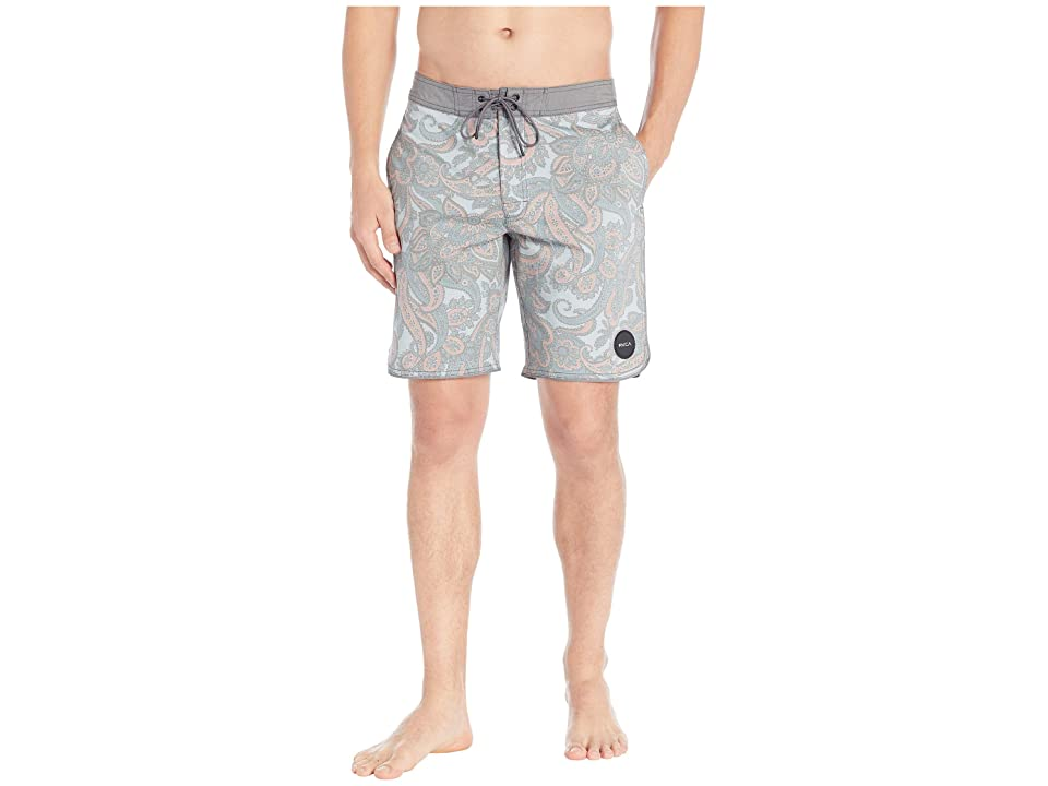 RVCA Siegel Trunk (Dusty Blue) Men