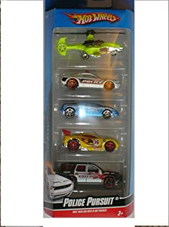 Hot Wheels 5 Pack Police Pursuit