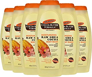Palmer's Cocoa Butter Moisturizing Body Wash With Shea Butter, 13.5 Ounce, 6 Count